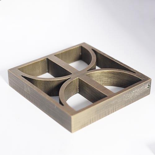 铜12mm三轴
